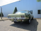 Ford Mustang Lime Gold 351
